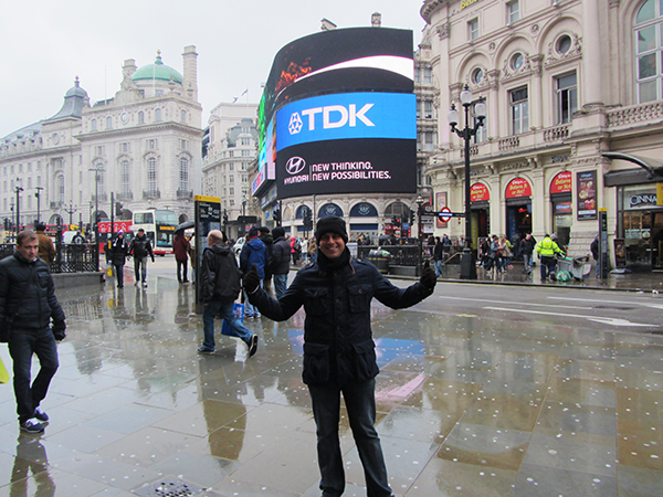 Picadilly Circus.