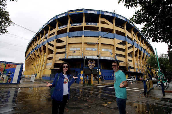 Estadio de la Boca Junior
