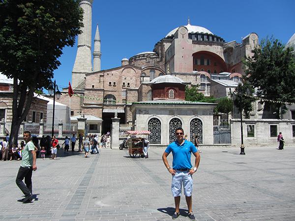 Andorreando en Santa Sofia Estambul