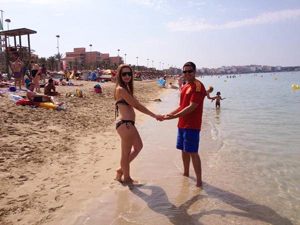 Playa del Arenal.