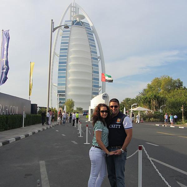 Burj Al Arab Dubái.