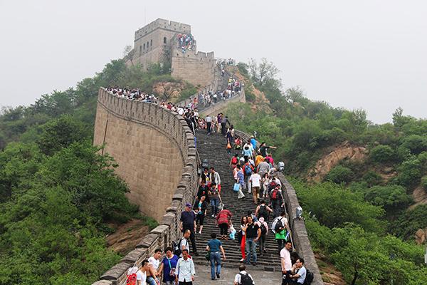 Gran Muralla China Maravilla Del Mundo Moderno