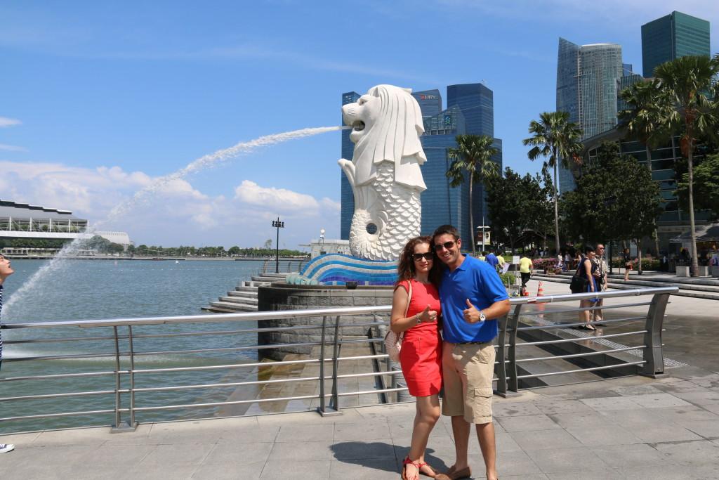 Parque Merlión Singapur
