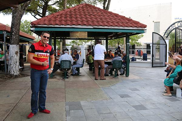 Parque Domino little Habana Miami