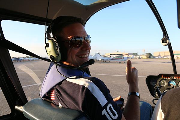 helicóptero Miamai