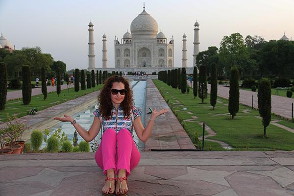 Andorreando Taj Mahal