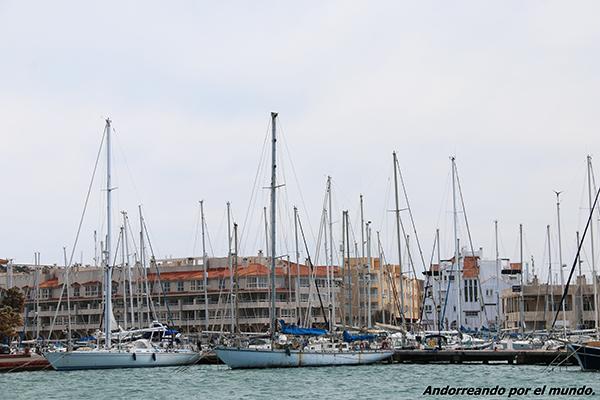 Puerto Deportivo Almerimar.