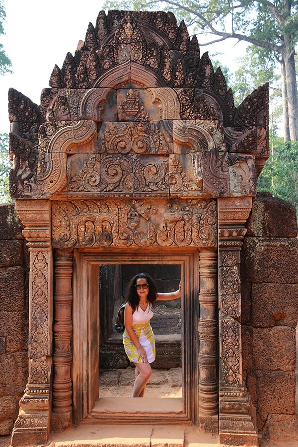 interior Templo Banteay Samre