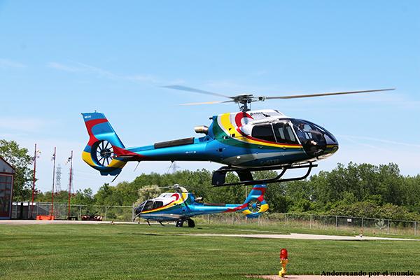Vuelo Helicóptero