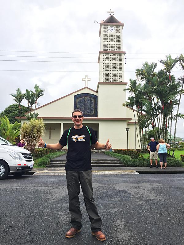 Iglesia pueblo Fortuna