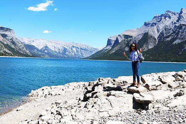 Andorreando Lago Minnewanka