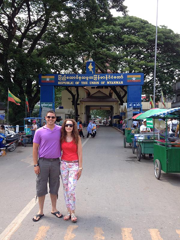 Frontera Tailandia- Myanmar
