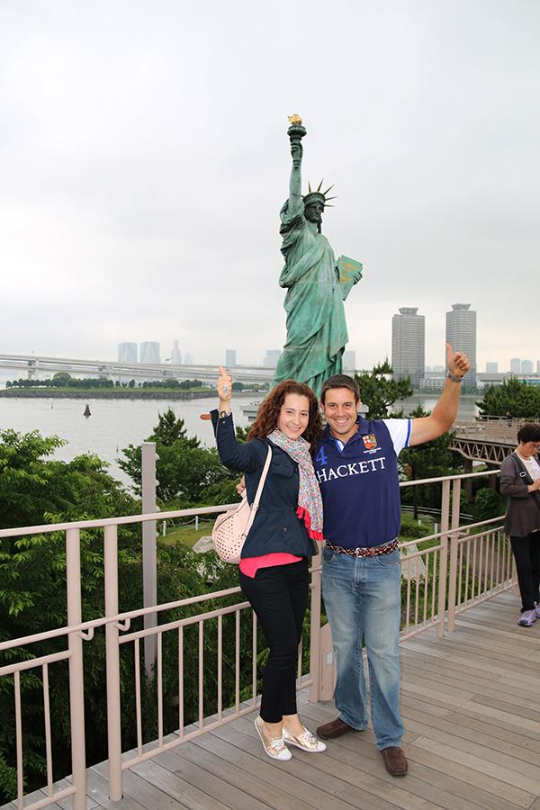 Estatua Libertad Tokyo