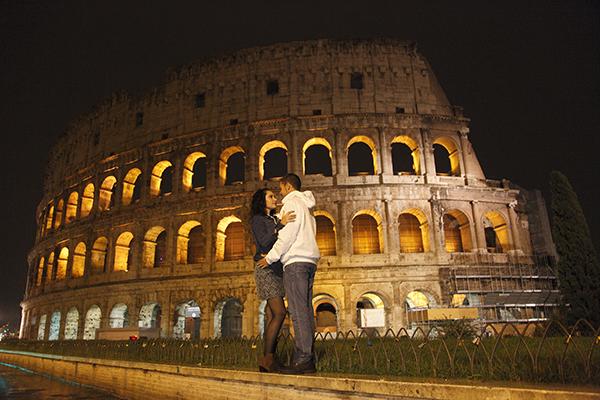 Coliseo Romano Maravilla Del Mundo Moderno