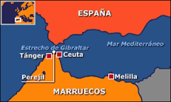 Mapa Melilla