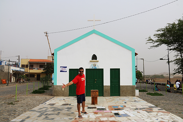 Parroquia San Antonio en Palmeira.