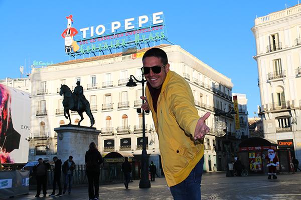 Andorreando Puerta del Sol
