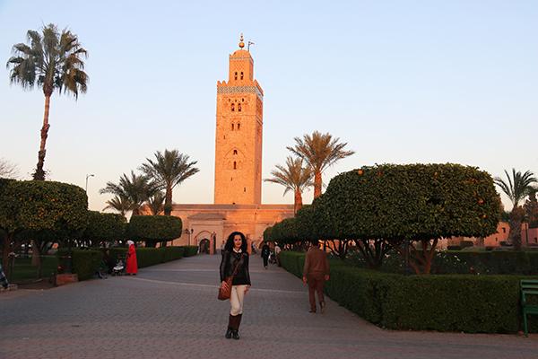 Mezquita Al Koutoubia.