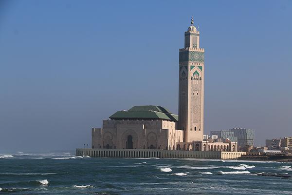 Mezquita Hassan II,