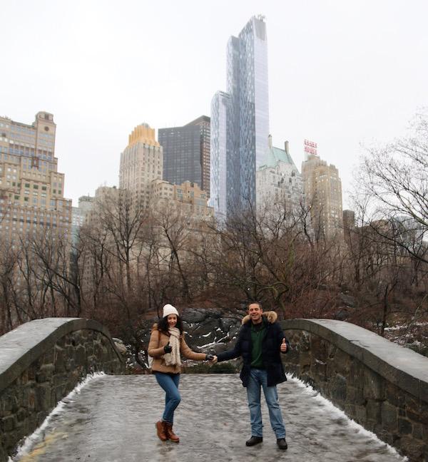 Andorreando Central Park.