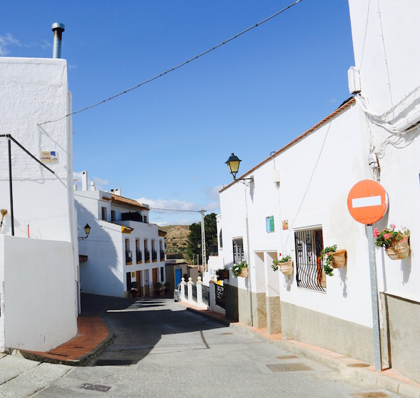 Calles de Lucainena de las Torres
