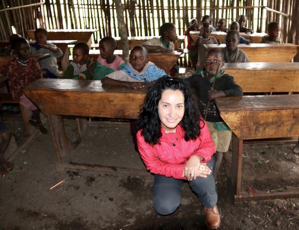 Escuela Tribu Maasai-Andorreando por el Mundo