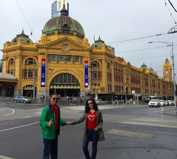 Flinders Street Station-Andorreando por el Mundo