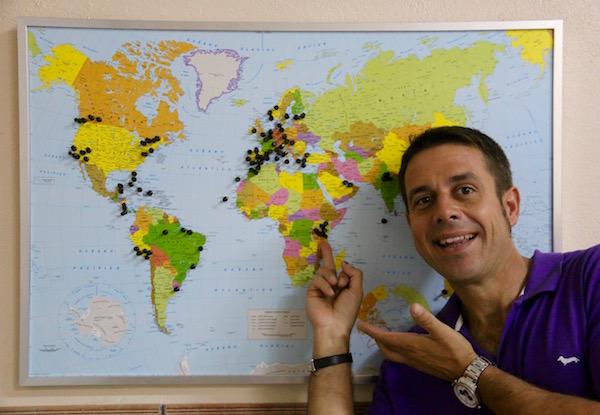 Mapa Tanzania-Andorreando por el Mundo