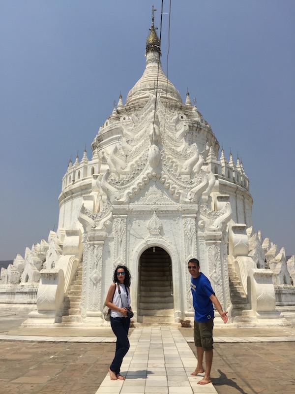 Pagoda Hsinbyume-Andorreando por el Mundo