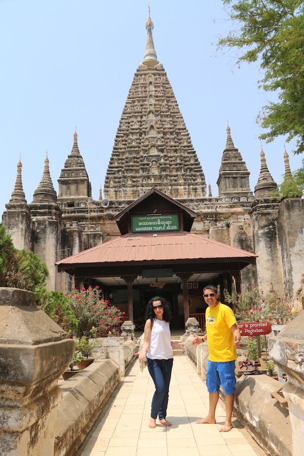 Templo Maha Bodi-Andorreando por el Mundo