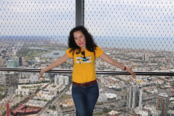 Vistas Melbourne Eureka Tower-Andorreando por el Mundo