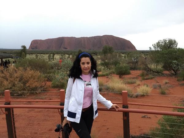 Amanecer Uluru-Andorreando por el Mundo