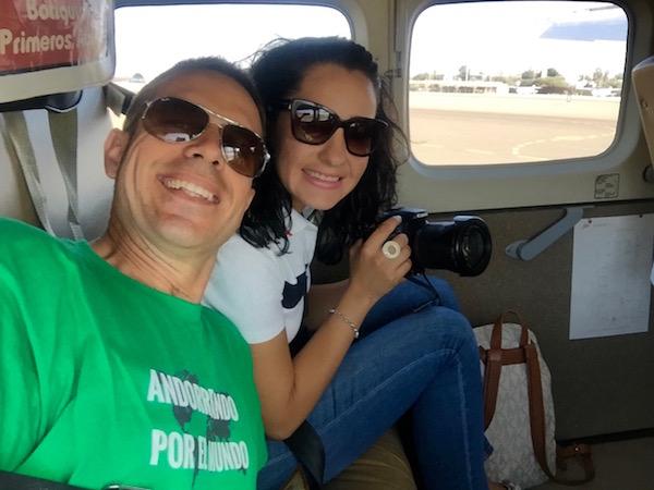 Avioneta Líneas de Nazca-Andorreando por el Mundo