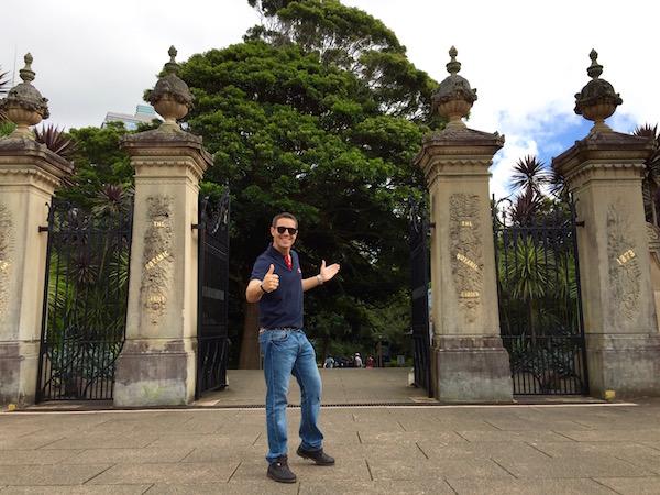 Entrada Jardines Botánicos Reales-Andorreando por el Mundo