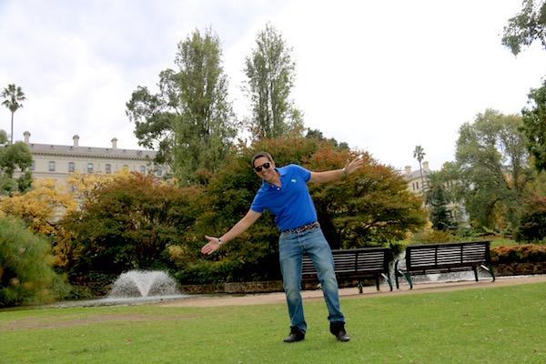 Fitzroy Gardens-Andorreando por el Mundo.