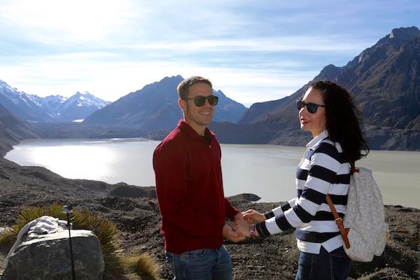 Glaciar Tasman-Andorreando por el Mundo.