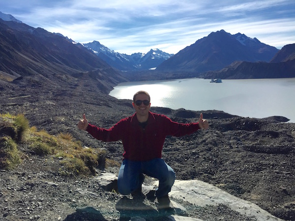 Glaciar Tasman-Andorreando por el Mundo