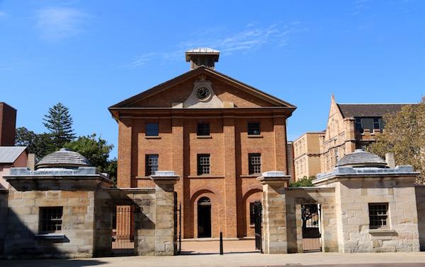 Museo Hyde Park Barracks-Andorreando por el Mundo