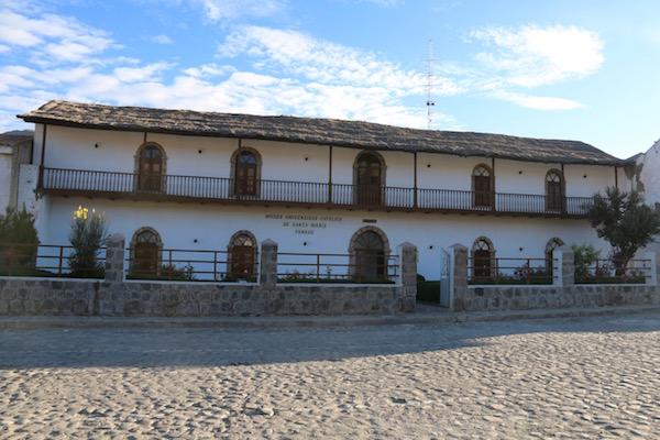 Museo Universitario Santa María Yanque