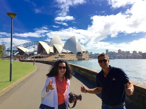 Opera Sidney-Andorreando por el Mundo