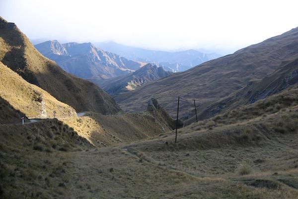Paisaje carretera Skpper Cañon-Andorreando por el Mundo
