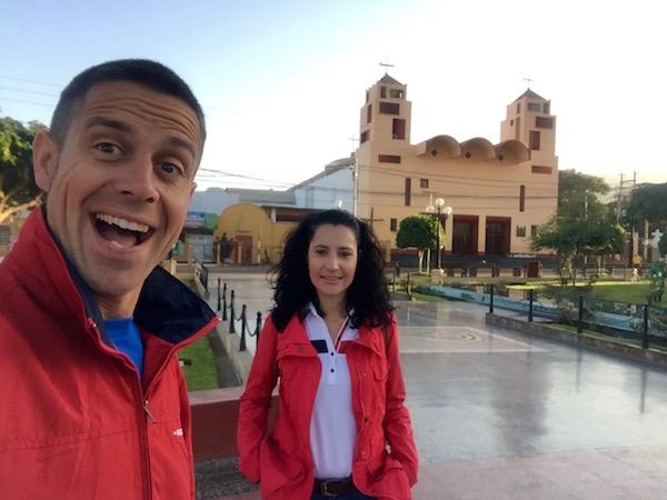 Parroquia Santiago Apóstol Nazca-Andorreando por el Mundo