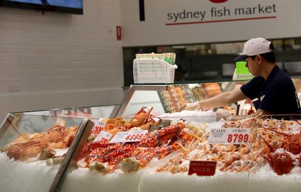 Pescado Sidney Fish Market-Andorreando por el Mundo