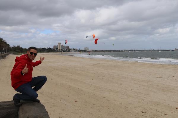 Playa Kilda-Andorreando por el Mundo
