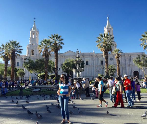 Plaza de Armas Arequipa