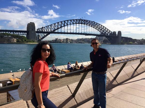 Puente Harbour Bridge-Andorreando por el Mundo.