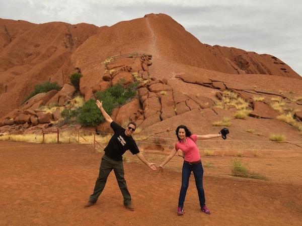 Subida Uluru-Andorreando por el Mundo