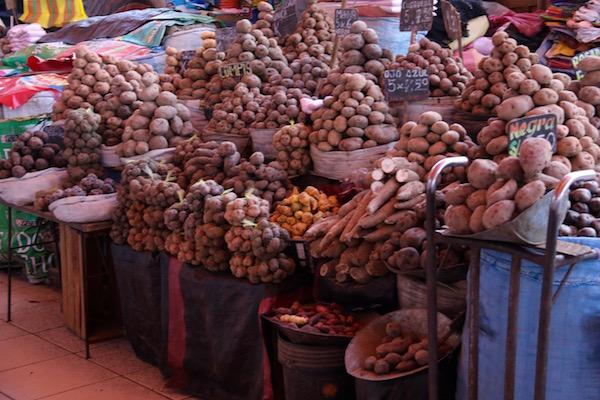 Variedad Patatas Mercado San Camilo
