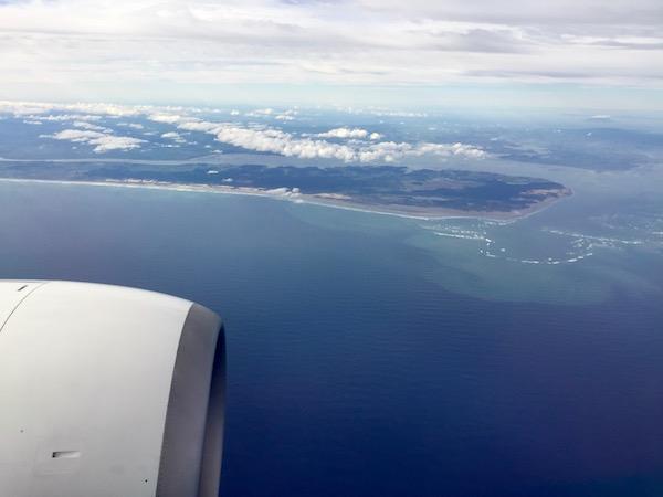 Vistas Avión Nueva Zelanda-Andorreando por el Mundo