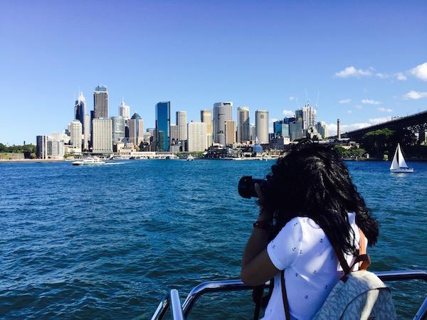 Vistas Crucero Sydney-Andorreando por el Mundo